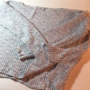 Marled cotton Madewell slouchy cotton sweater